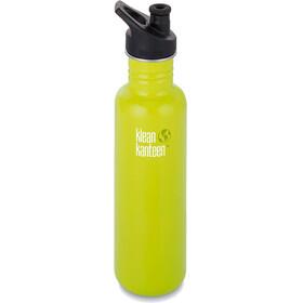 Klean Kanteen Classic Bottle Sport Cap 3.0/27oz (798ml) Lime Pop